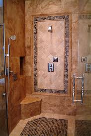 travertine shower traditional bathroom seattle by all tile intended for design 6