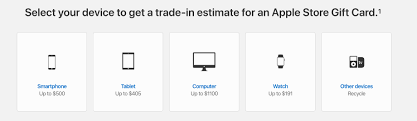 Apple Trade In Value Chart How To Find The Estimated Value Of Your Device With Apple