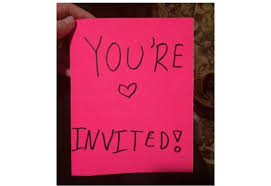 12 Year Old Girl Writes Fierce Party Invitation To Little