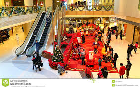 christmas-decoration-shopping-mall-active-visitors-enjoying-decorations-