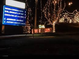 Christmas Light Displays Near Festus Mo National Shrine Of Our Lady Of The Snows Belleville