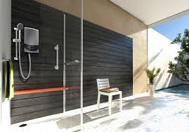 ariston s aures luxury electric instant water heater d at 299 is designed by italian designer umberto palermo and is developed with the brand s