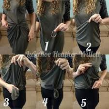 <b>Knot</b> long shirts! Also <b>love</b> the jeans :) | casual <b>outfits</b> in 2019 ...