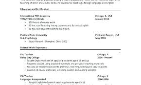 Teacher Sample Resumes Resume Certification Sample Mulhereskirstin Info