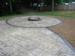 innovative stamped cement patio outdoor decorating images 1000 ideas about colored concrete patio on stamped