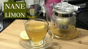 Nane limon çayının mucizevi faydaları