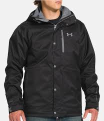 under armour jackets mens. black , zoomed image under armour jackets mens