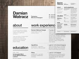 Gallery of: 10 Modern Resume Font 2016