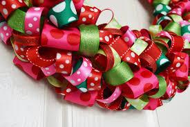 Christmas Ribbon Wreath!