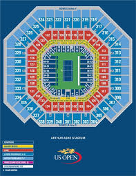 Indian Wells Tennis Seating Chart Arthur Ashe Seating Chart Topnotch Tennis Tours