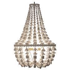 flower drop chandelier