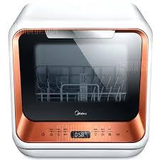 midea dishwasher mini manual