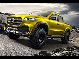 Mercedes Pickup Truck 2017 First Commercial World Premiere Mercedes ...