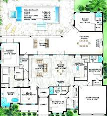 house plans with pool in middle home courtyards the design indoor house plans with pool in middle home courtyards the design indoor