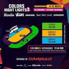 Color Night Lights Chile 2019 Colors Night Lights 2 Concierto Que Trae De Regreso A