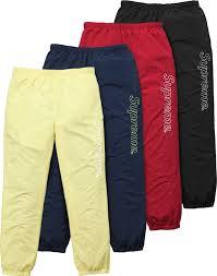 Supreme Pants Size Chart Supreme Warm Up Pant Pants Fashion Supreme