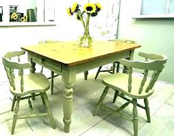 small shabby chic kitchen table distressed pale blue shabby table and chairs shabby chic small round