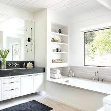 built in shelves over drop bathtub ideas tile drop in tubs best bathtub ideas on