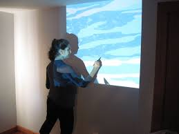 projector wall paintPaint by Number Wall Mural  EasterKiwi