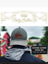 holtz leather last call the last hat for the year ends today milled
