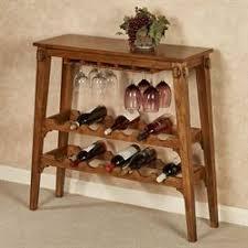 wine rack table. Vernazza Wine Rack Table Vintage Oak