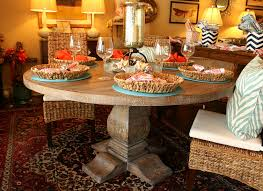 picture of 60 inch round pedestal dining table