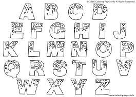 Free Alphabet Coloring Pages Unique Free Printable Alphabet Coloring