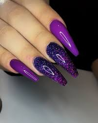 Pretty Nail Designs And Colors Pinterest Keyannnaa Purple Nail Designs Pretty Nail Art