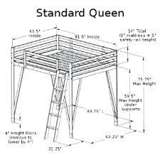 queen loft bed diy queen loft bed plans queen size loft bed how to build queen loft bed diy