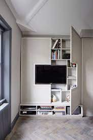 High style, low-budget in this 750 square foot English flat | Apartment  interior, Diy bedroom storage, House interior