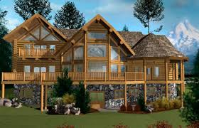 House Plans Log Cabin Layouts Home   Bestofhouse net         Blue Ridge Log Home Floor Plan Caribou Creek Timber Coast Mountain Log Homes
