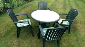 plastic garden table green resin garden furniture home round green plastic garden table nice home design