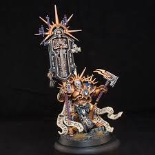 i painted the models in subassemblies to make it easier to get to everything i did the same thing with my lord castellant and imagine i will have to with
