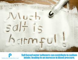 salt based water softeners linked to