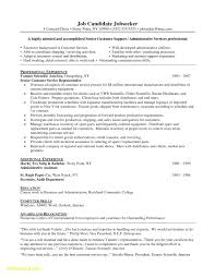 Customer Service Sample Resume Resume for Customer Service Jobs New Resume Summary Statement 13