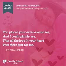 I Love You Grandma Quotes Classy Grandmother Poems Poems For Grandmother From Grandchildren