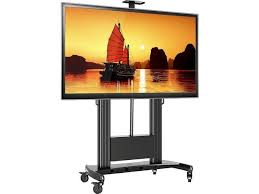 100 inch tv stand. Simple Inch ONKRON Universal Mobile TV Cart Stand With Wheels For 60 And 100 Inch Tv