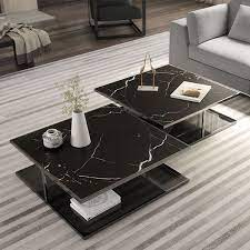 ann coffee table in 2021 black marble