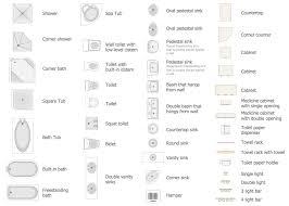 Plain Floor Plan Symbols Bathroomapplianceslibrary With Design Ideas