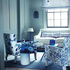 blue and white living room decorating ideas. Simple White Floral Blue And White Living Room Decorating Inside Ideas