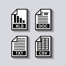 ドキュメントの書式設定アイコン ベクター画像 プレミアムダウンロード