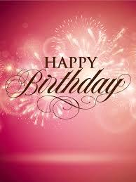 Elegant Birthday Fireworks Card Birthday Greeting Cards By Davia
