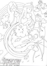 Small Picture printable adventure time coloring pages adventure time 15