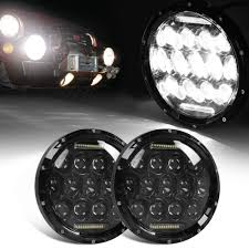 Hummer H2 Fog Light Bulb Us 37 02 21 Off Black Drl 2x 7