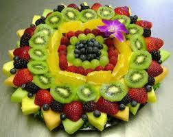 How To Decorate Salad Tray decorationfruit100 Plating garnishing decorating Pinterest 74