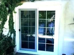 cost to replace patio door glass replacing sliding door with french doors replacing glass in doors
