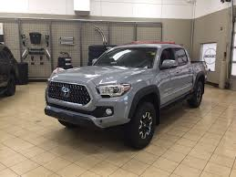 New 2018 Toyota Tacoma TRD Off-Road 4 Door Pickup in Sherwood Park ...