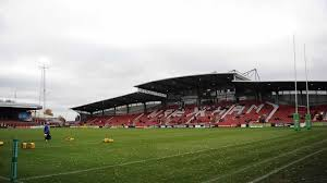 Wrexham football club in wrexham. Wales Return To Wrexham S Racecourse Stadium Love Rugby League