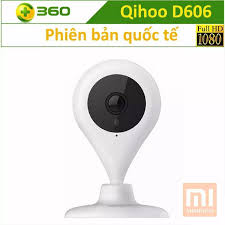 Camera giám sát IP Qihoo 360 D606 Full HD 1080P - Bản Quốc Tế - Góc nhìn  150 độ - Đàm thoại 2 chiều, Hồng ngoại ban đêm