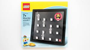 lego minifigure collector frame 5005359 review